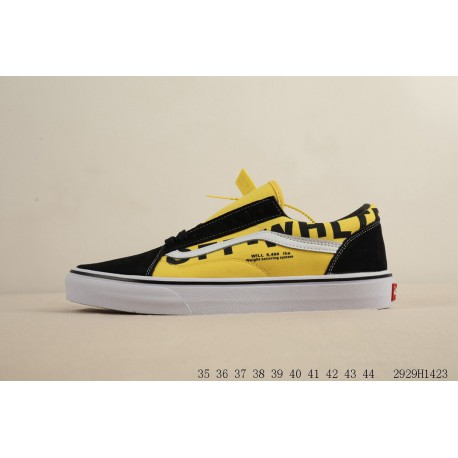 816647db91 VANS Old Skool OFF-WHITE Crossover Low Grade School Skate Board Shoes  2929h1423