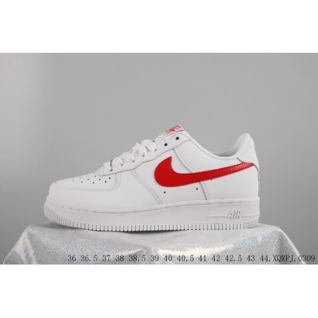 Air Force Upper FSR Nike Air Force 1 Af1 Mid Air Force One Low Skate Shoes White Red Mid 315123-126