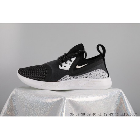 premium selection fdf7a c2a50 Nike lunarcharge black and white lunar epic sparkling women s sports  trainers shoes blps0307
