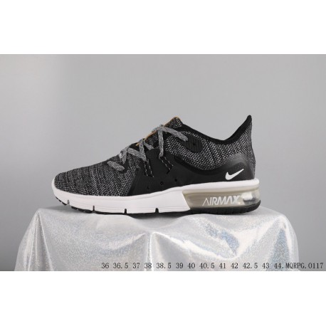 newest 306a2 ed159 Nike  Deadstock AIR MAX Sequent 3 Sport Air Trainers Shoes