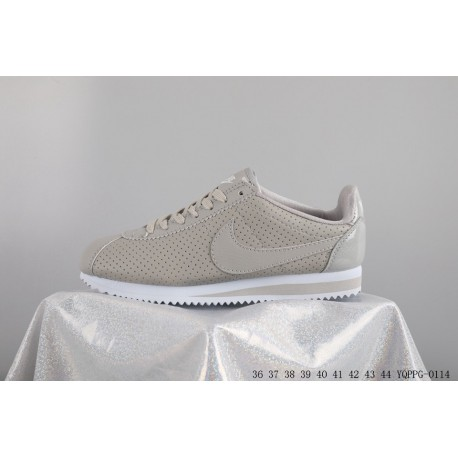brand new 52846 24fe6 Nike  nike cortz classic se prm deadstock cortez leather upper punching  fashion casual jogging shoes