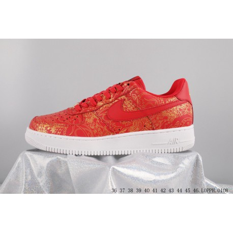 1b9430b8dbdcc2 Collection nike air force 1 af1 low air force no. 1 low white gold dragon