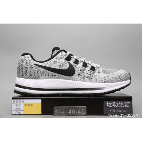 reputable site 8981c 3b171 Collection Nike Air Zoom V12 Lunar Epic V12 Generation High Quality  Knitting Flyknit Breathable Light Trainers