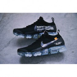 2018 New Color Virgil Abloh Designer OFF-WHITE X Nike Air VaporMax 2.0 Generation Steam Air Max Jogging Shoes Ow2.0 Black Ice B