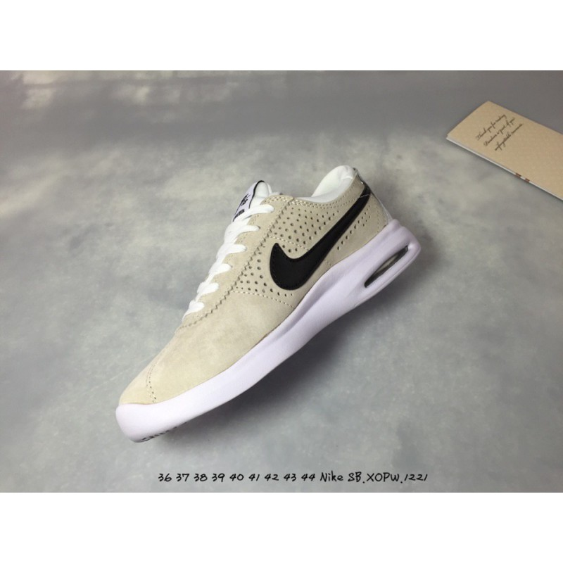 buy popular 3e8af 3cca6 ... Nike SB Air Max Bruin Vapor Small Air Pigskin Sports Skate Board Shoes