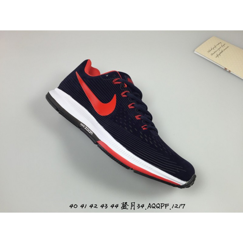 872bbcf5eed47 ... Nike air zoom pegasus 34 lunar epic 34th generation pigskin engraving leather  upper leisure shoe