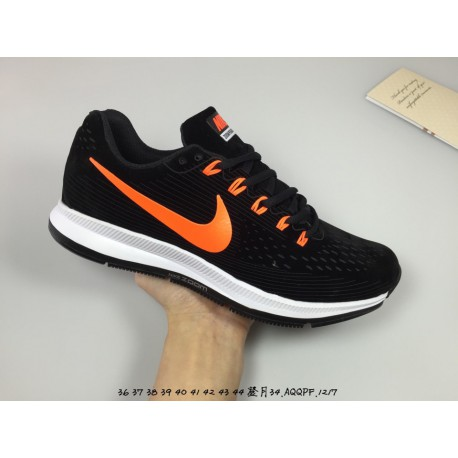 Nike air zoom pegasus 34 lunar epic 34th generation pigskin engraving leather upper leisure shoe