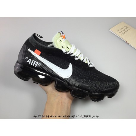 new style d2533 cc781 Nike X OFF-WHITE Crossover Ow Vapor Max 2018 Black And White Air Max Racing