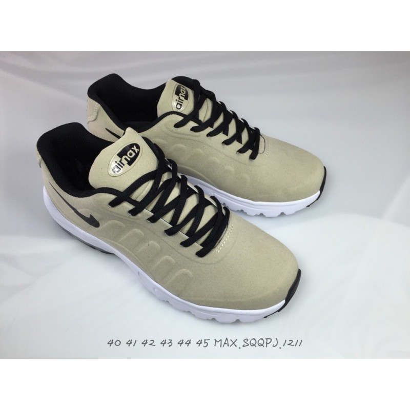 64cf1b6640901 ... NIKE AIR MAX INVIGOR 95 Max95 Half Palm Air Trainers Shoes Full Pigskin  ...