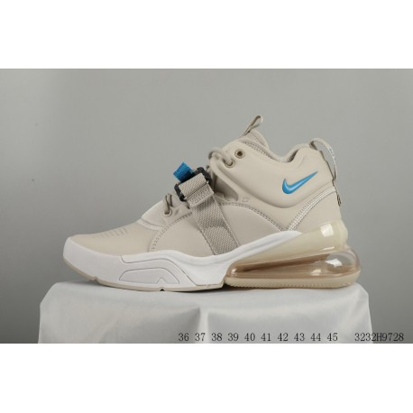 Nike Air Force 270 Vintage High Leather Upper Half Palm Air Resilience  Racing Shoes 3232h9728 15385c9b50