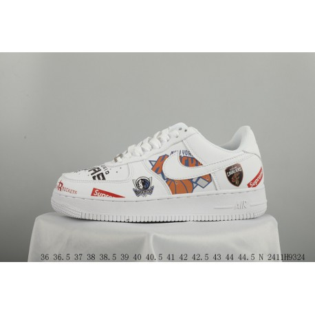 buy popular d5a63 eb6e3 Nike air force 1nba crossover graffiti air force one casual skate shoes  2411h9324