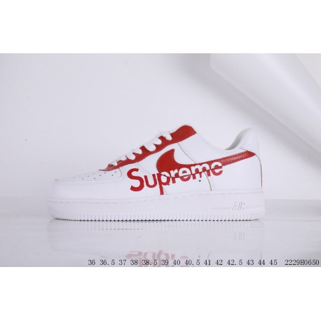 differently 9b66b 69b0e FSR Nike Air Force 1 Air Force One Crossover Supreme LV Leather Upper Low  Casual Skate