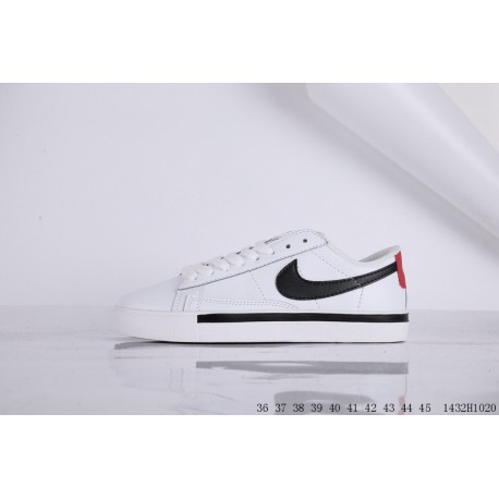 Nike blazer low blazer leather upper grade school fashion low leisure skate shoes 1432h1020