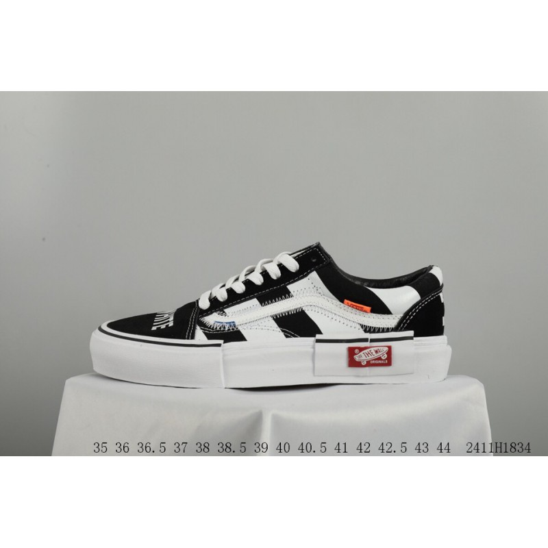 0a552ee226765a ... Vans Original Off-white X Vans Again Crossover This Vans Uses Premium  Vulcanize Old Sookl ...