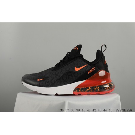 49ae3ed9638c NIKE 2018 Deadstock 270 Crystal Particles Air Shocking Racing Shoes Womens  AIR MAX 270 FLYKNIT Leisure