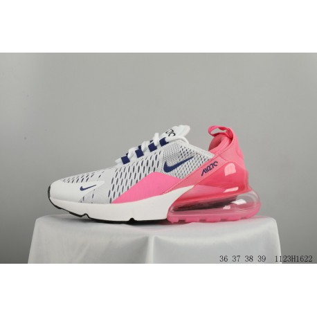 db43b13d247 Nike air max 270 breathable mesh half air trainers shoes back palm real air  provides stable