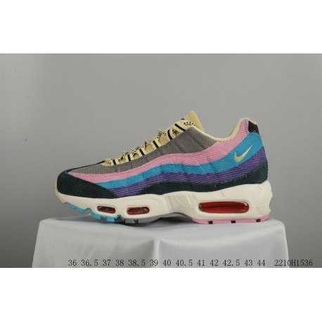 uk availability 02419 38bd5 Nike air max 95 w rainbow gradient color stitching horse hair air max  2210h1536