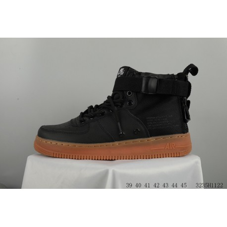 finest selection 11d6e 2b42a NIKE SF Af1 MID Zipper Air Force One Mid Skate Shoes Cool Functional Wind  3235h1122