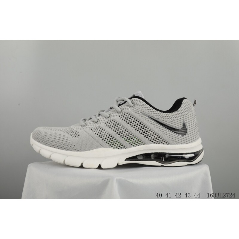 newest 5227c 6d91f ... Nike fashion sport flyknit woven half air breathable cushioning shoes  ...