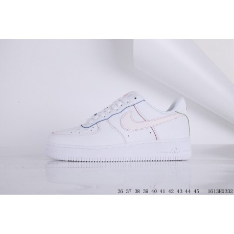 Nike Sf Air Force One Sale,Nike Air Force One On Sale,Air Force One Rainbow  Leather Upper Fabric Low Skate shoes NIKE AIR FORCE