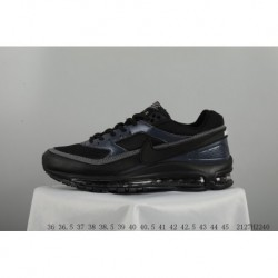 f4f1c31693 Nike Air Max 97 Vintage Total Air Trainers Shoes Black And White Colorway  2127h2340