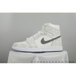 NIKE AIR Jordan 1 Retro Laser Aj1 Joe 1 Laser Skate Shoes 3737h2121