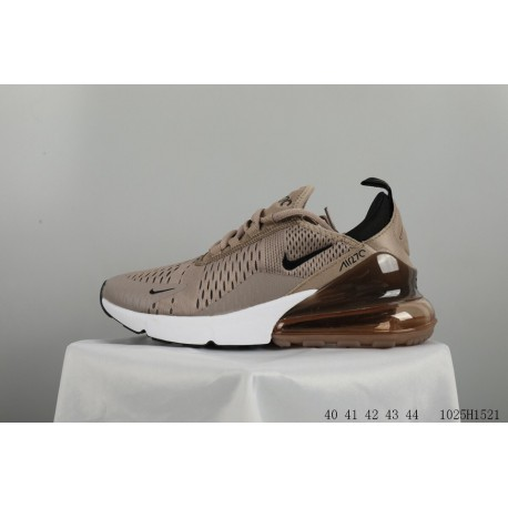 b822e282665f NIKE Womens AIR MAX 270 FLYKNIT Breathable Mesh Air Racing Shoes