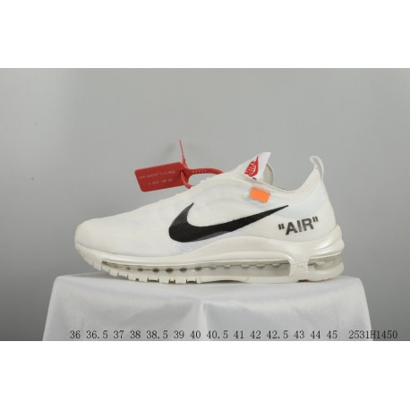 the best attitude 2d79d 58d6e Top Ten Best Nike Shoes,White Nike Air Max Cheap,OFF-WHITE x NIKE Air Max  97 the ten OW 1997 Crossover Bullet 2531H1450