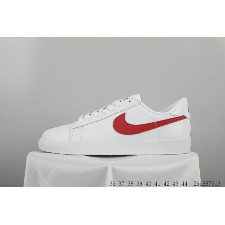 69306eb0c11eb Nike tennis classic ac blazer leather upper skate shoes