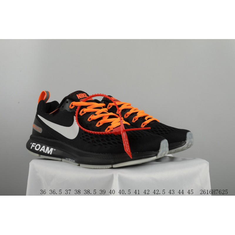 598801dd3222d ... Off White X Nike Air Zoom Pegasus 34 Crossover Lunar Epic 34 Generation Breathable  Mesh Sports