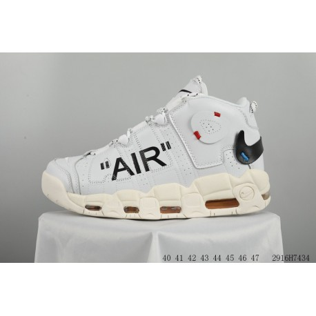 check out e32e8 5eef3 New Sale! Creative crossover off-white X Nike Air More Uptempo Pippen  Generation Basketball-Shoes ow