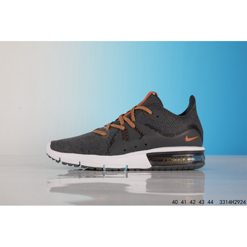 d722ee08c8a1 ... NIKE AIR MAX Sequent Rear Air Stylish Comfortable Shock Absorption  Sportshoes 3314h2924
