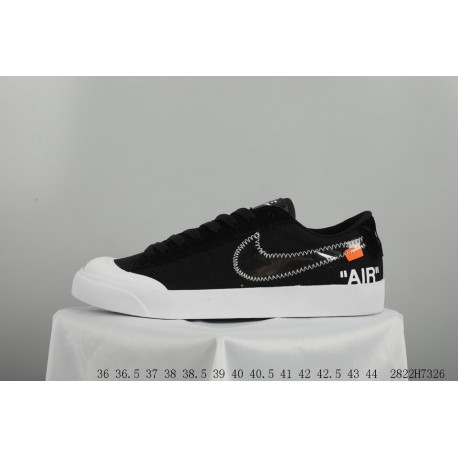 New Sale! OFF WHITE X NIKE SB Blazer Zoom Low Crossover Blazer Open Smile Skate  Shoes eadbcb0a1