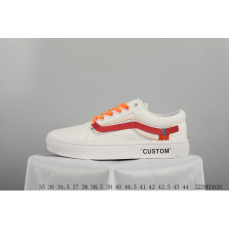 e56a047c9e7a FSR VANS X OFF WHITE Crossover All-Match fashion casual duck shoes 2229h3020