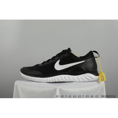 outlet store 85c0d ae48c FSR NIKE Free Rn 2018 Free Mesh Cushioning Breathable Jogging Shoes  8818h2926