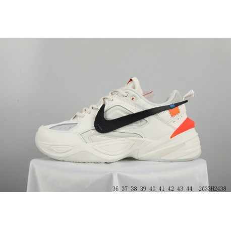 ca0a4ecdf57 New Sale! Bespoke Limited Edition Crossover Off White X Nike Air Monarch  The M2k Tekno Vintage Trend All