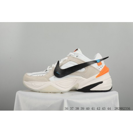 d4d79cdfecd4 Original Bespoke Limited Edition Crossover Off White X Nike Air Monarch The  M2k Tekno Vintage Trend