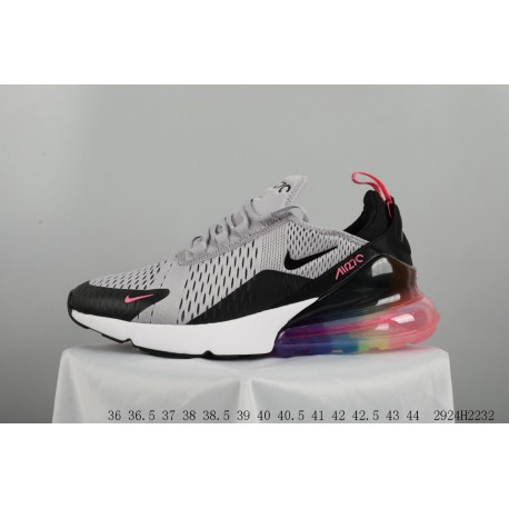 Cheap Nike Air Max 1 Trainers Uk,Cdiscount Nike Air Max,Nike Air Max 270 Rainbow Face Knitting Upper Half Palm Air Trainers Sho