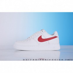 Nike air force 1 air force one classic white red layer leather 2116h2722
