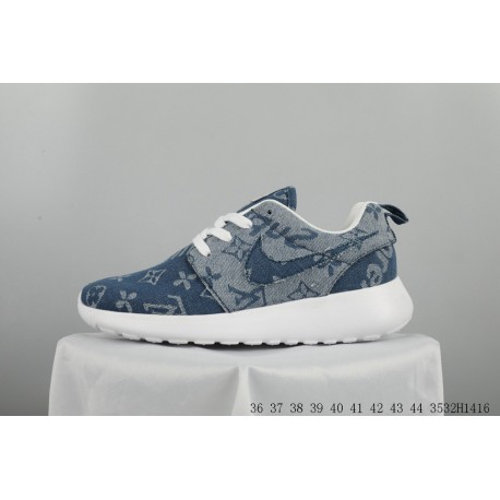 006af54b8ba05 LV X Supreme Reme X NIKE Roshe One Three-Way crossover london lightweight trainers  shoes