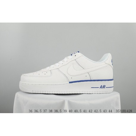 NIKE AIR Force 1 Af1 Air Force One Star White Casual Skate Shoes 3531h1428