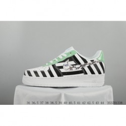 Bespoke FSR ️Virgil Abloh Designer Independent Brand Super Limited Edition ️off-white X Nike Air Force 1 Low Air Force One Clas