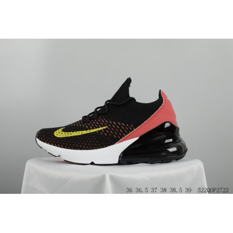 c528f4bd258f2 FSR Nike Air Max 270 Flyknit Couple Flyknit Trainers Shoes 522qop2722