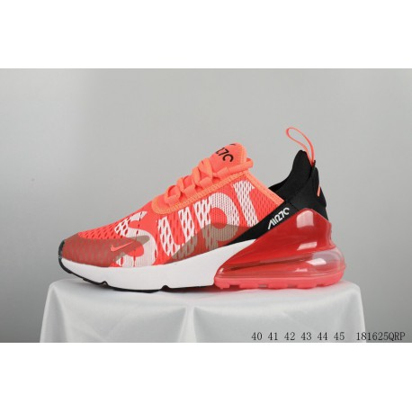 new style ebf70 71d2c Creative Supreme Crossover Supreme X Nike Air Max 270 Seat Half Palm Air  Jogging Shoes