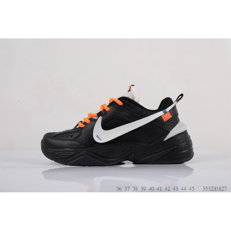 5693b4a86ddeb ... Grandfather Shoes Leather Upper Air High Quality Nike W M2k Tekno  Vintage Dad Sneaker 3532h1827
