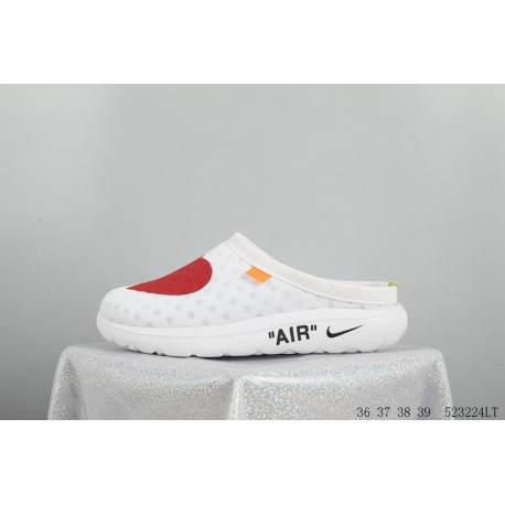 fb937e5699 Nike The 10:AIR Rejuyen8 Mule3 Bird's Nest Crossover Limited Edition Love  Slip-Ons