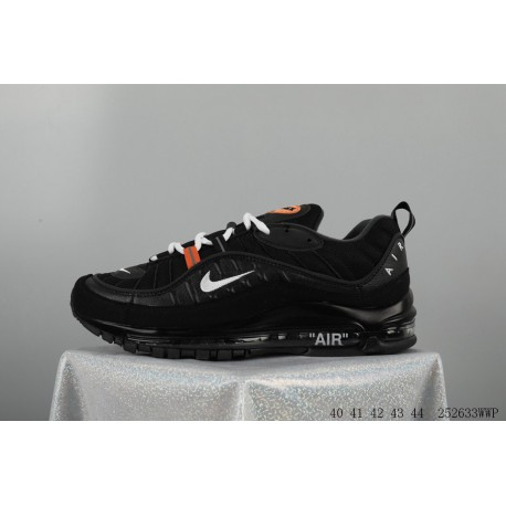 huge discount cf03c a3cc4 Nike Supreme X Nike Air Max 98 Crossover Total Air Racing Shoes