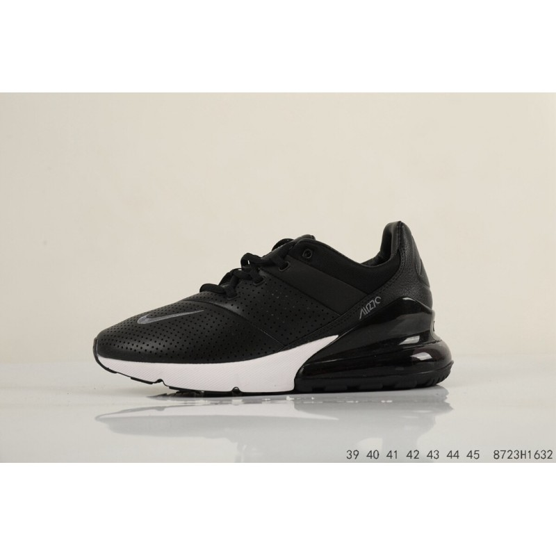 9d78325030 ... Air max 270 leather upper splicing gradient khaki spot warehousing official  website strong operation main push ...