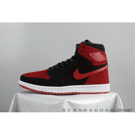 52a0cdd5ffdd Air jordan 1 flyknit bhm aj1 woven black moon basketball-shoes 228360qup