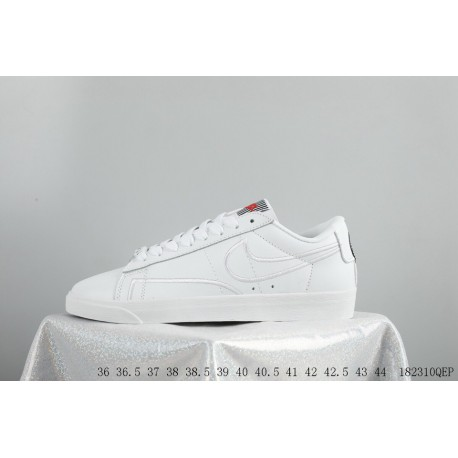 huge selection of b5a5c 28d61 Hot Cake Recommended Leather Upper FSR Nike Blazer Low Se Love Valentine s  Day Limited Edition White